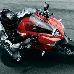 Пазл онлайн: Мотоциклист
