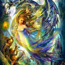 Пазл онлайн: Плененная фея