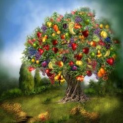 Пазл онлайн: Чудесное дерево