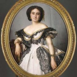 Пазл онлайн: Портрет неизвестной дамы