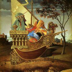 Пазл онлайн: Корабль пустыни