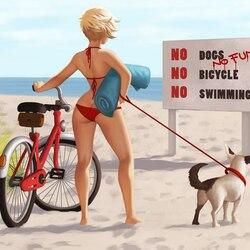 Пазл онлайн: Пляж