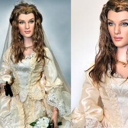 Пазл онлайн: Кукла Элизабет Суон