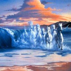Пазл онлайн: Морское волшебство