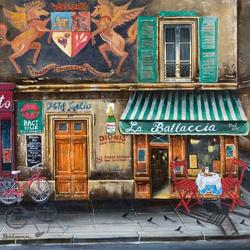 Пазл онлайн: Итальянская улочка