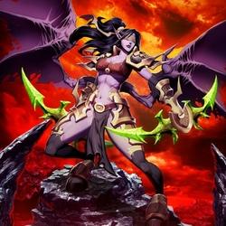 Пазл онлайн: Демон-охотник