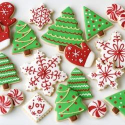 Пазл онлайн: Рождественское печенье