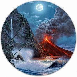 Пазл онлайн: Вулкан