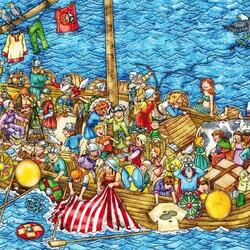 Пазл онлайн: Викинги