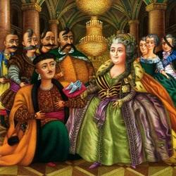 Пазл онлайн: На приеме у царицы (Ночь перед рождеством)