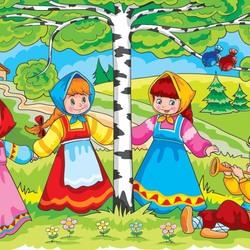 Во поле береза стояла картинка к песне