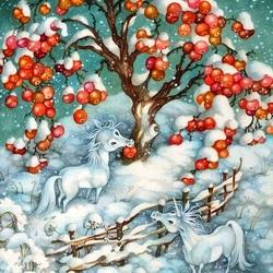 Пазл онлайн: Новогоднее угощение