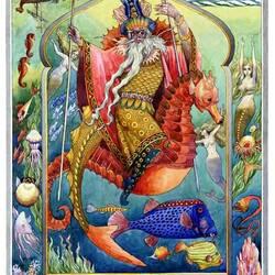 Пазл онлайн: Морской царь