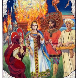 Пазл онлайн: Славянская сага