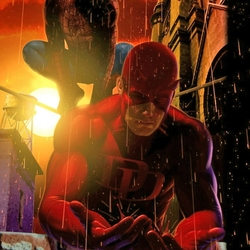 Пазл онлайн: Сорвиголова и Человек-паук