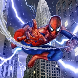 Пазл онлайн: Человек-паук