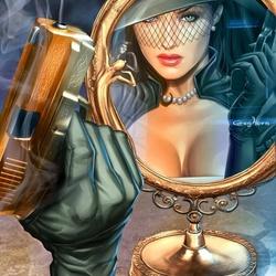 Пазл онлайн: Госпожа Мираж