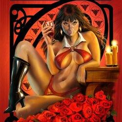 Пазл онлайн: Вампирелла