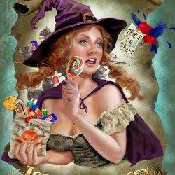 Пазл онлайн: Веселый Хэллоуин