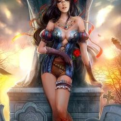 Пазл онлайн: Белоснежка (Grimm Fairy Tales)