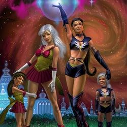 Пазл онлайн: Звездные красотки