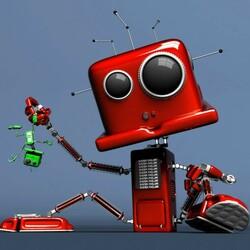 Пазл онлайн: Робот