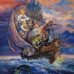 Пазл онлайн: Потерянный корабль
