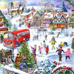 Пазл онлайн: Веселые праздники