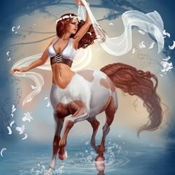 Пазл онлайн: Танец с ветром