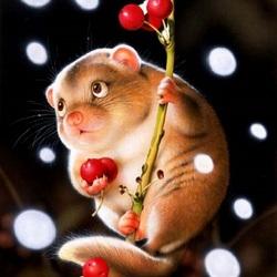Пазл онлайн: За ягодами
