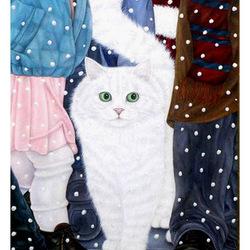 Пазл онлайн: Снег идет