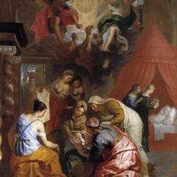 Пазл онлайн: Рождение Богородицы