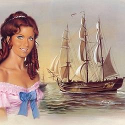 Пазл онлайн: Мечта моряка