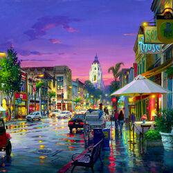 Пазл онлайн: Венеция ночью