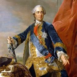 Пазл онлайн: Король Франции Людовик XV