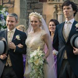 Пазл онлайн: Свадьба Ватсона