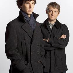 Пазл онлайн: Шерлок и Ватсон