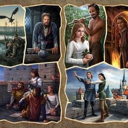 Пазл онлайн: Герои на все времена