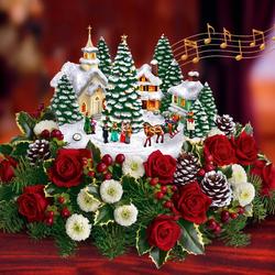 Пазл онлайн: Рождественская музыкальная шкатулка
