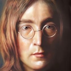 Пазл онлайн: Джон Леннон