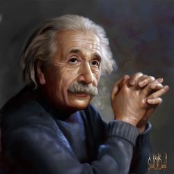 Пазл онлайн: Альберт Эйнштейн