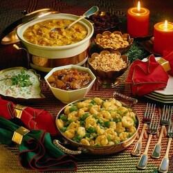 Пазл онлайн: Семейный салат