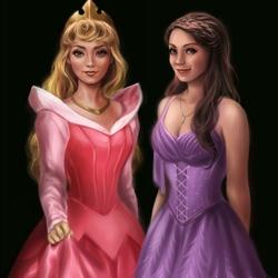 Пазл онлайн: Принцесса Аврора
