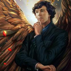 Пазл онлайн: Шерлок