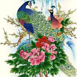 Пазл онлайн: Китайская живопись