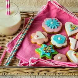 Пазл онлайн: Печеньки