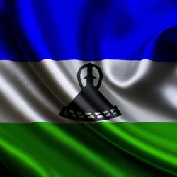 Пазл онлайн: Флаг Лесото