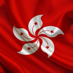 Пазл онлайн: Флаг Гонконга