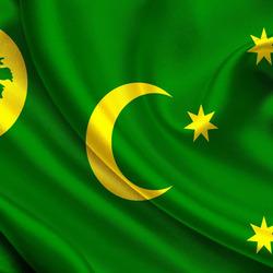 Пазл онлайн: Флаг Кокосовых островов