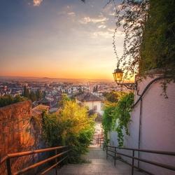 Пазл онлайн: Гранада, Испания